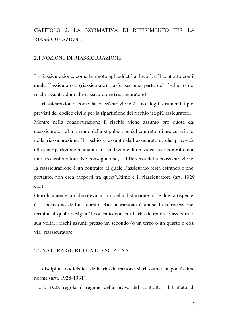 Anteprima della tesi: La riassicurazione per il rischio catastrofale: un approccio stocastico alle coperture terremoto del mercato italiano, Pagina 4
