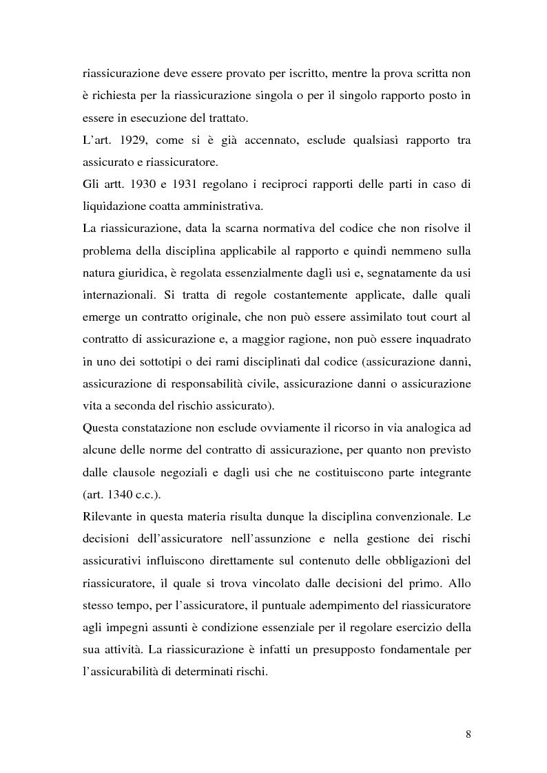 Anteprima della tesi: La riassicurazione per il rischio catastrofale: un approccio stocastico alle coperture terremoto del mercato italiano, Pagina 5