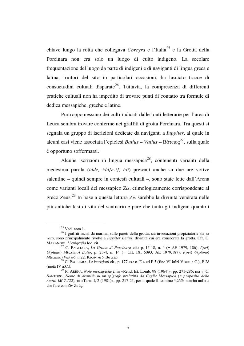 Anteprima della tesi: Gli spazi del culto nel Salento antico, Pagina 10