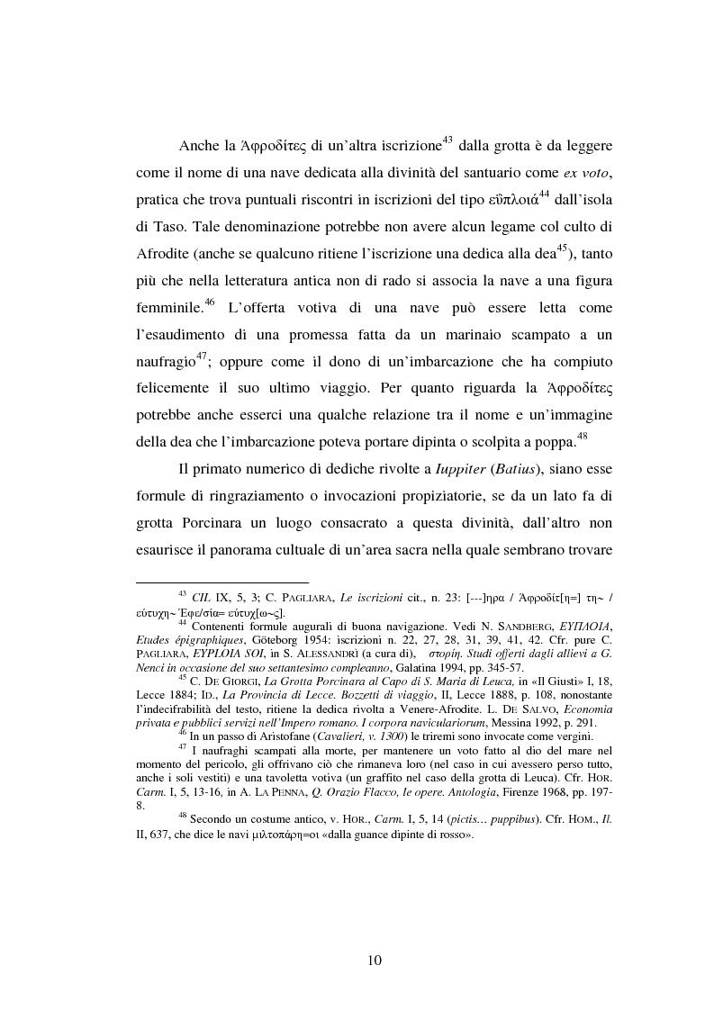Anteprima della tesi: Gli spazi del culto nel Salento antico, Pagina 13