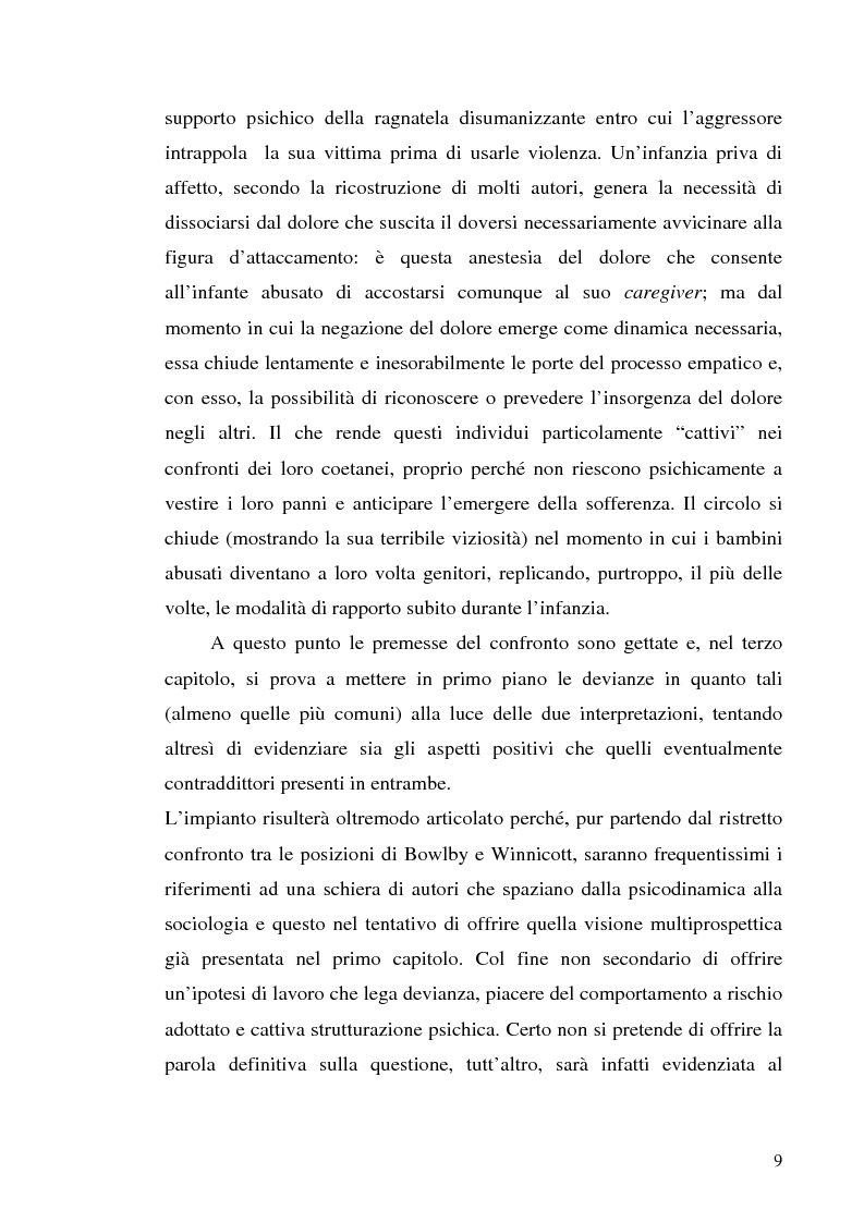 Anteprima della tesi: Adolescenza e ''adolescenze estreme'' - Viaggio attraverso il disagio adolescenziale, Pagina 4
