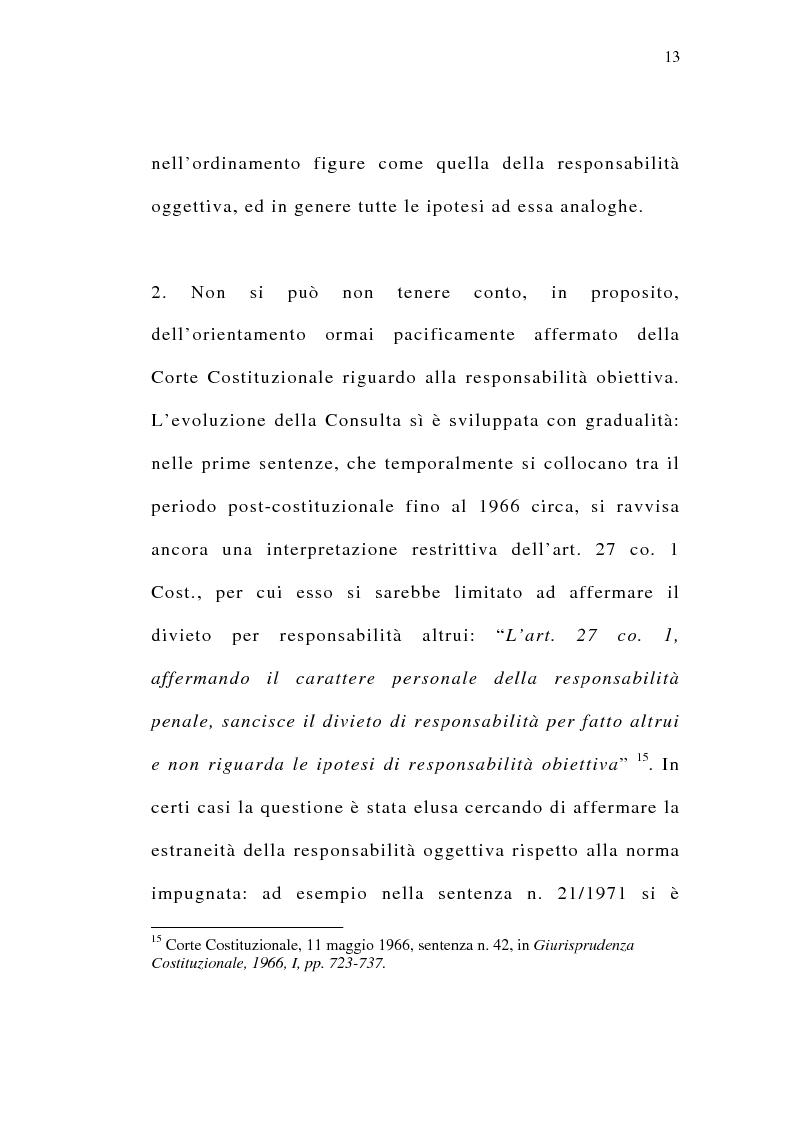Anteprima della tesi: Il delitto preterintenzionale, Pagina 11