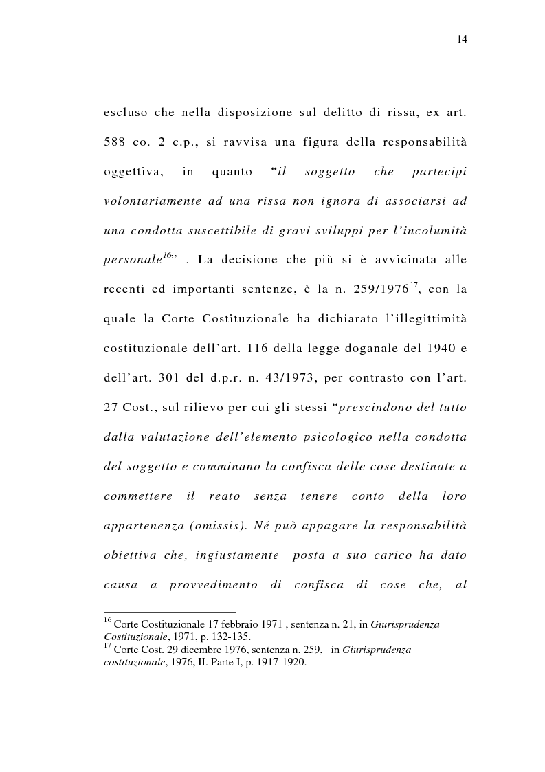 Anteprima della tesi: Il delitto preterintenzionale, Pagina 12