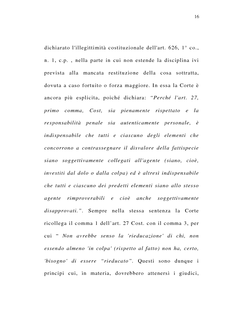 Anteprima della tesi: Il delitto preterintenzionale, Pagina 14