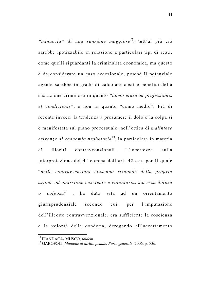 Anteprima della tesi: Il delitto preterintenzionale, Pagina 9