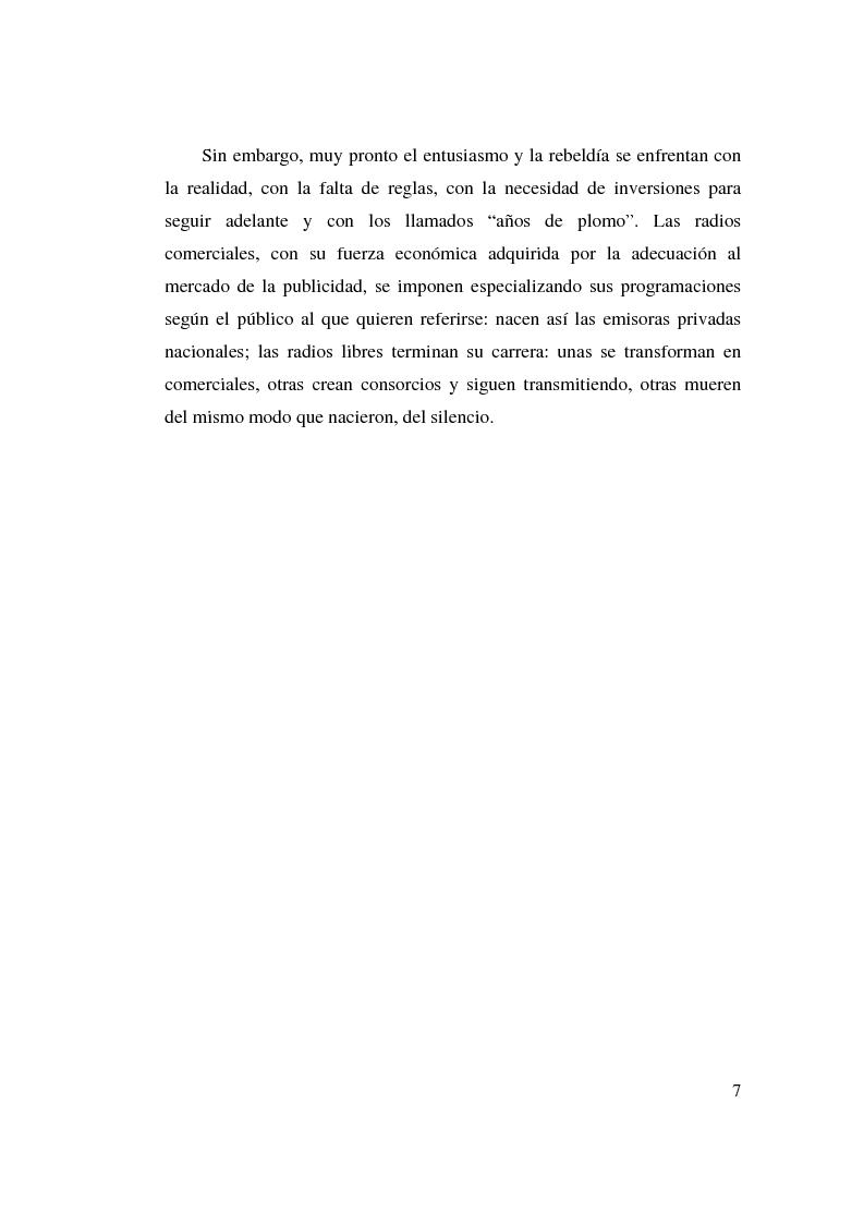 Anteprima della tesi: La stagione dell'indipendenza: CTA FM Stereo e le sue sorelle, Pagina 4