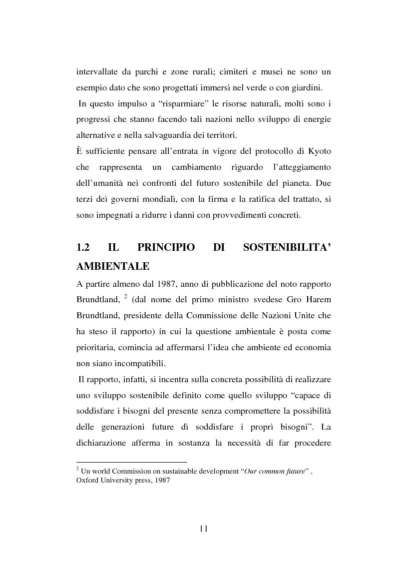 Anteprima della tesi: Turismo e ambiente: un binomio possibile, Pagina 8
