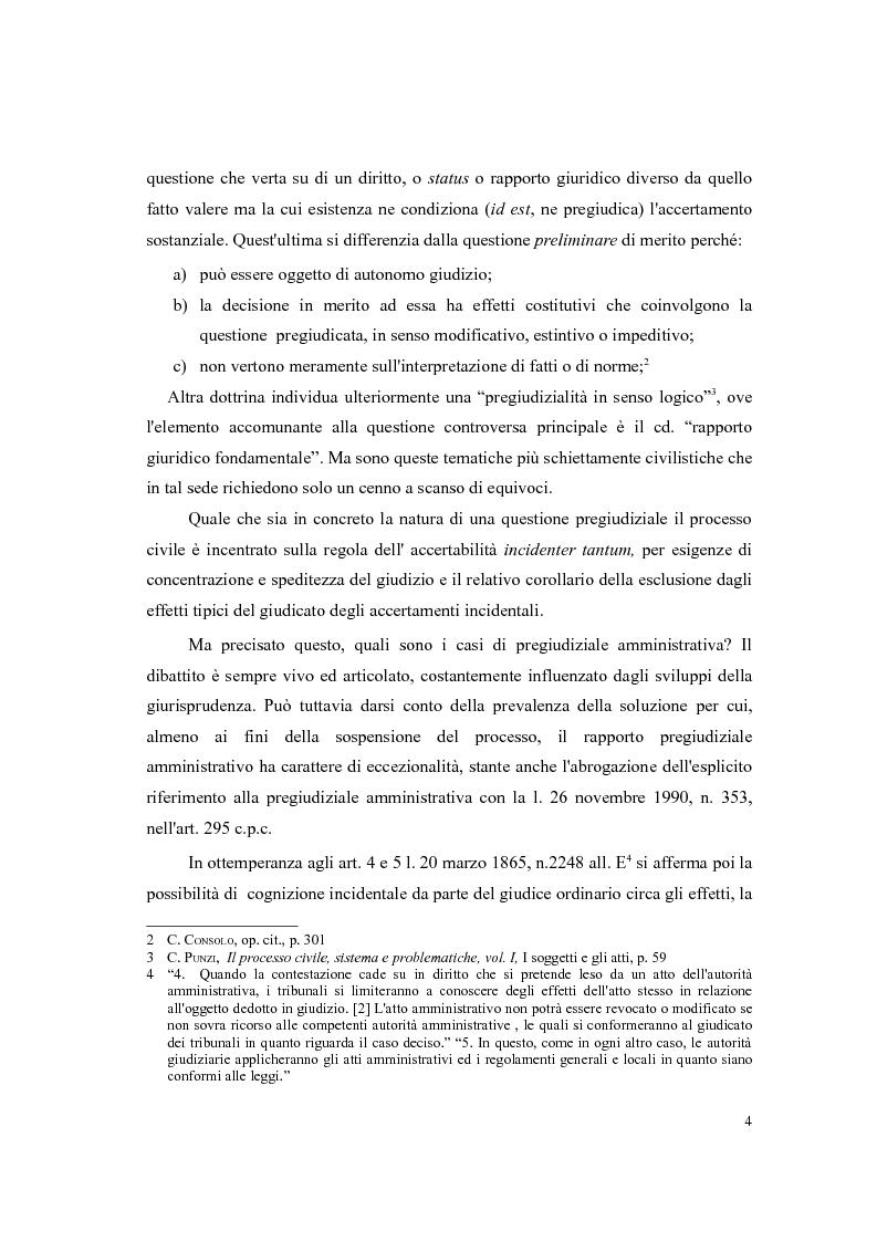 Anteprima della tesi: Responsabilità civile della Pubblica Amministrazione. La questione della pregiudizialità amministrativa: genesi del dibattito e frontiere giurisprudenziali, Pagina 3