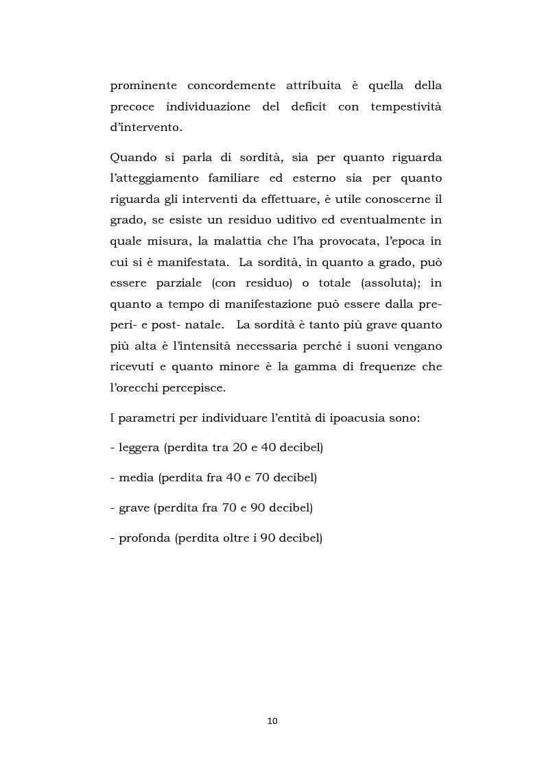 Anteprima della tesi: Una scuola oltre il silenzio, Pagina 7