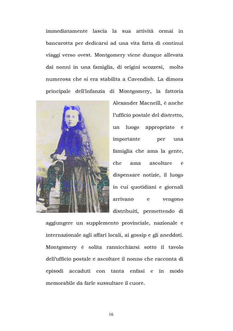 Anteprima della tesi: Lucy Maud Montgomery: Anne of Green Gables, storia di un'identità canadese, Pagina 12