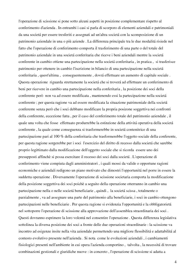 Anteprima della tesi: La scissione societaria transfrontaliera: aspetti civilistici, fiscali e strategici, Pagina 2