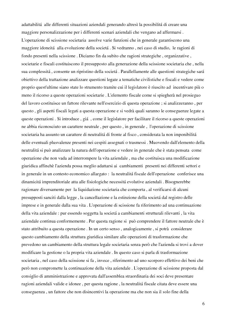 Anteprima della tesi: La scissione societaria transfrontaliera: aspetti civilistici, fiscali e strategici, Pagina 4