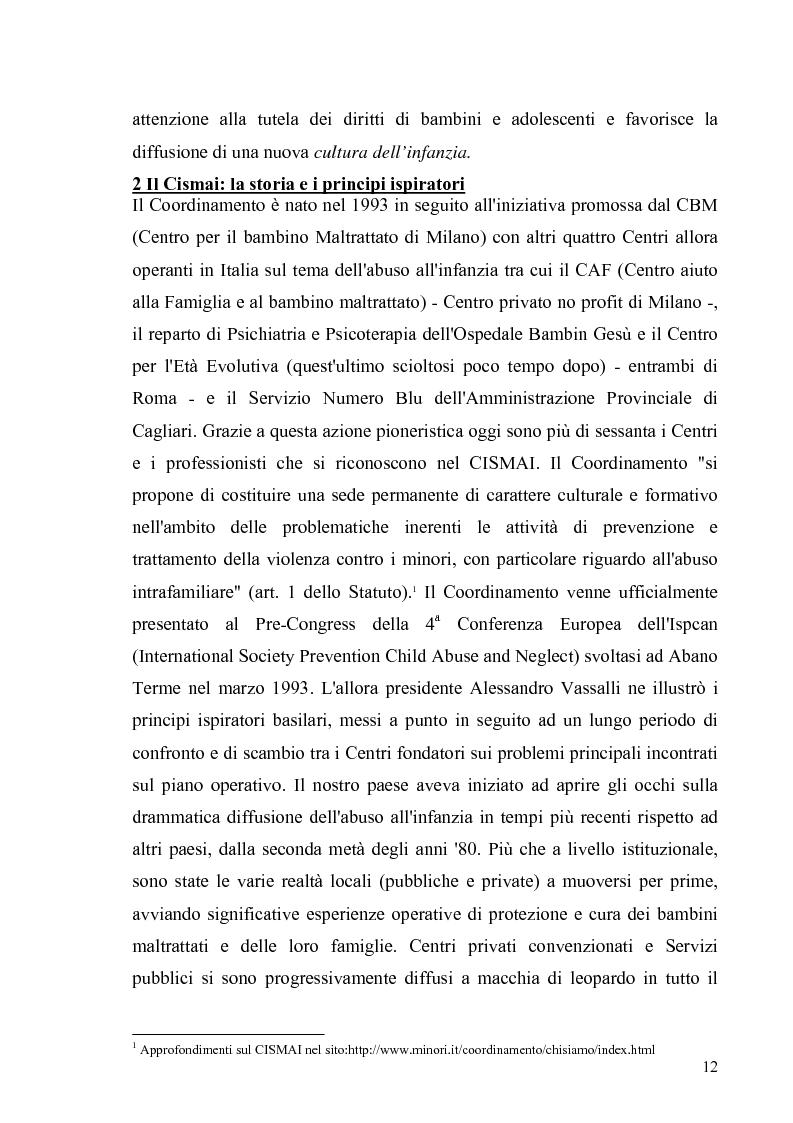 Anteprima della tesi: Aspetti psicologico-giuridici dell'abuso sui minori. Dalla denuncia al trattamento, Pagina 10