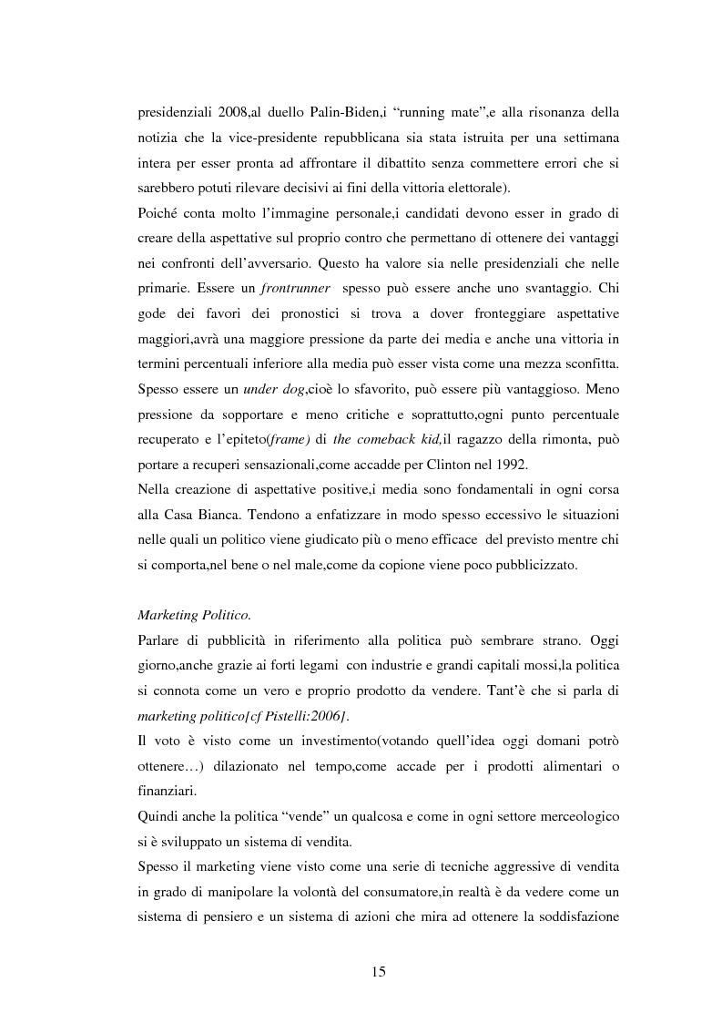 Anteprima della tesi: La comunicazione politica negli USA: analisi della campagna elettorale 2008, Pagina 10