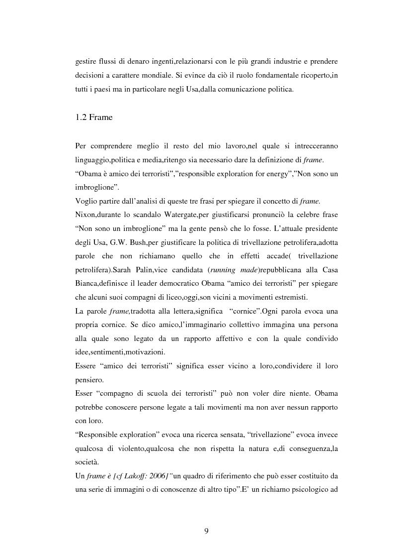 Anteprima della tesi: La comunicazione politica negli USA: analisi della campagna elettorale 2008, Pagina 4