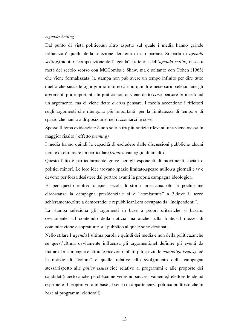 Anteprima della tesi: La comunicazione politica negli USA: analisi della campagna elettorale 2008, Pagina 8