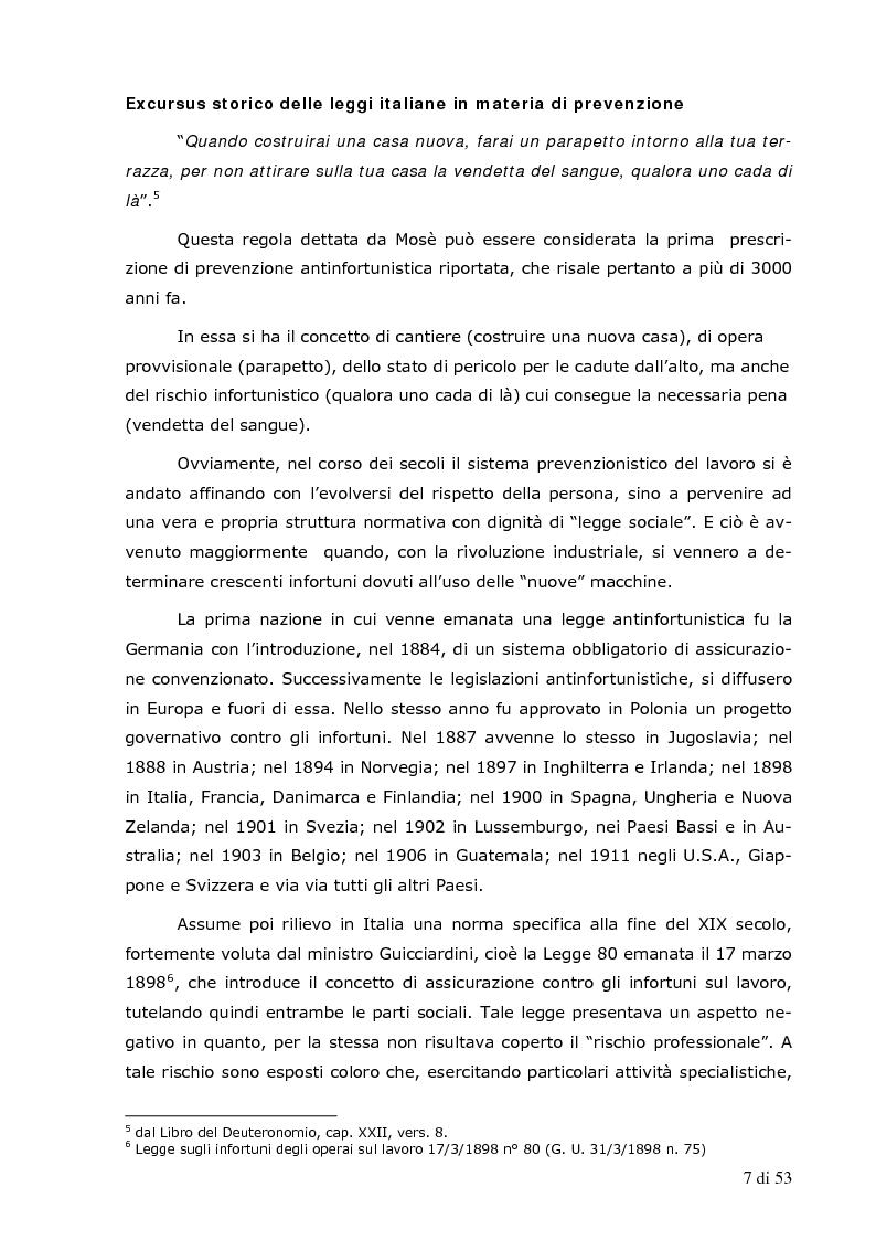 Excursus storico delle leggi italiane in materia di for Costo della costruzione di una nuova casa