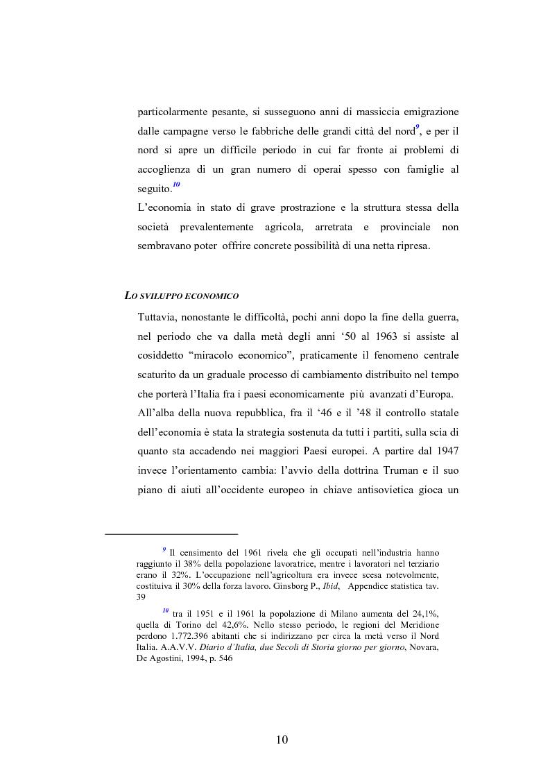 Anteprima della tesi: La figura della donna nel cinema italiano del secondo dopoguerra, Pagina 6