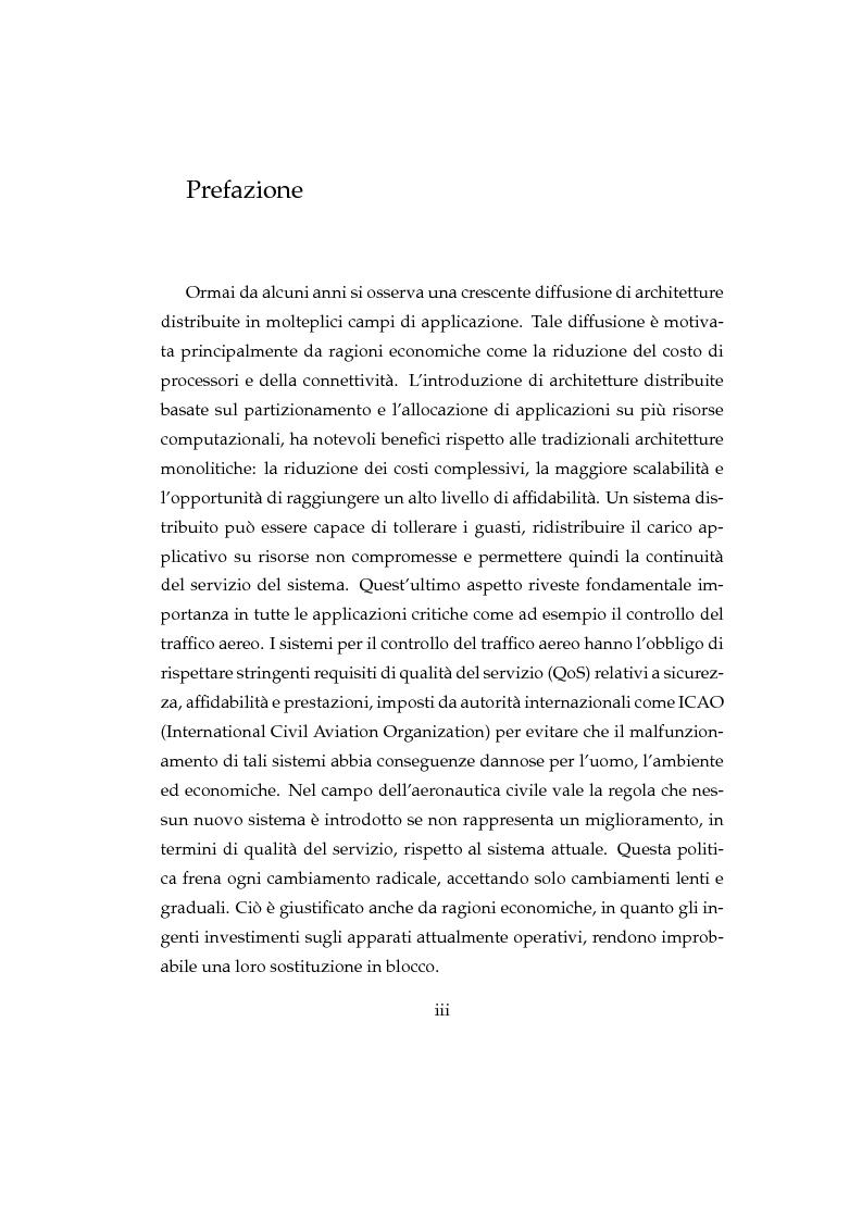 Anteprima della tesi: Valutazione quantitativa della QoS dei servizi applicativi su rete ATN (Aeronautical Telecommunications Network), Pagina 1