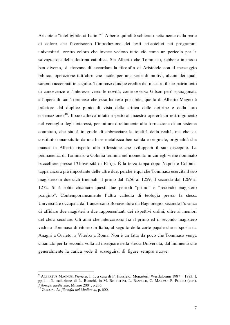 Anteprima della tesi: Il tema dell'amore nella filosofia di Tommaso d'Aquino, Pagina 6