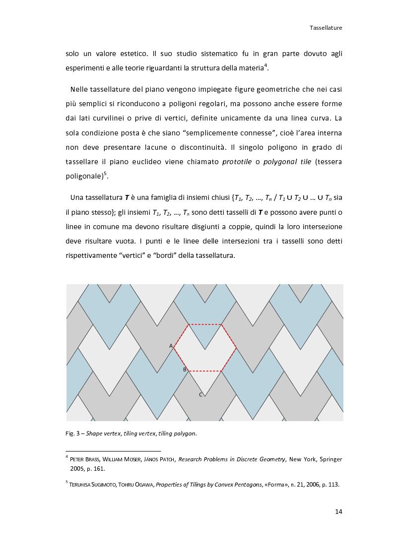 Nelle tassellature del piano vengono impiegate figure for Progettazione del piano casa online