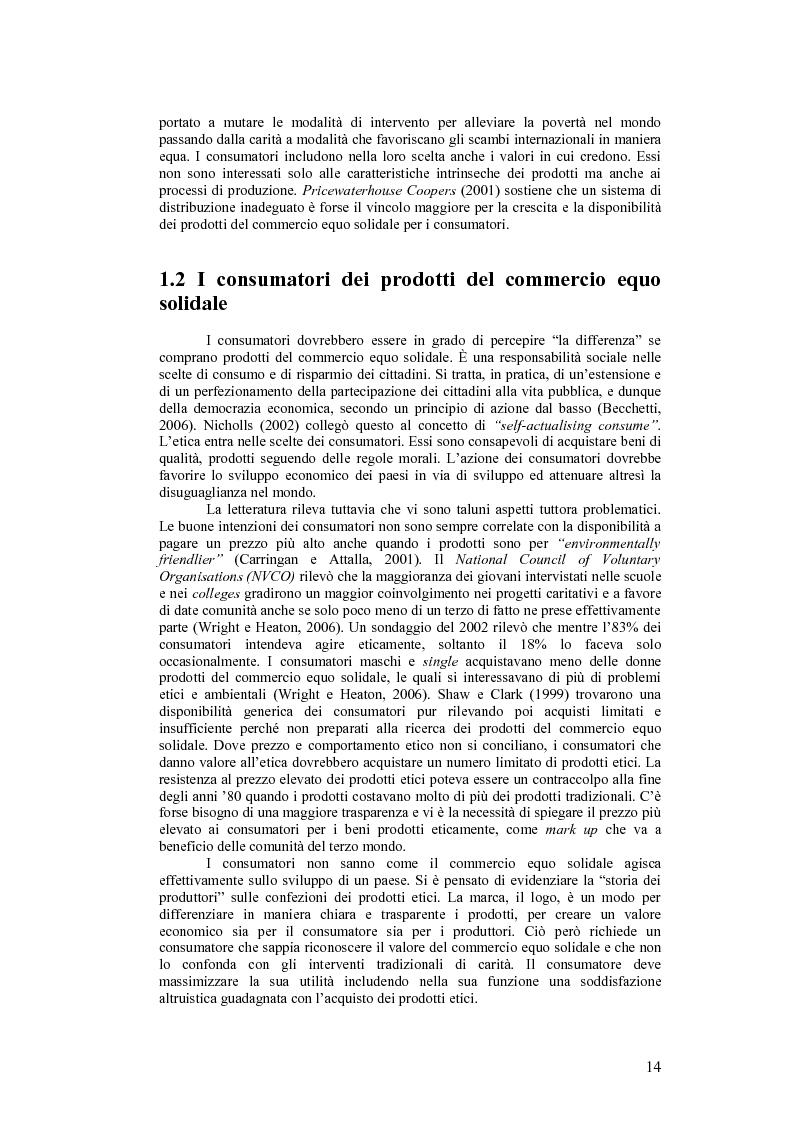 Estratto dalla tesi: Competenze informali: il caso dei volontari nel commercio equo solidale