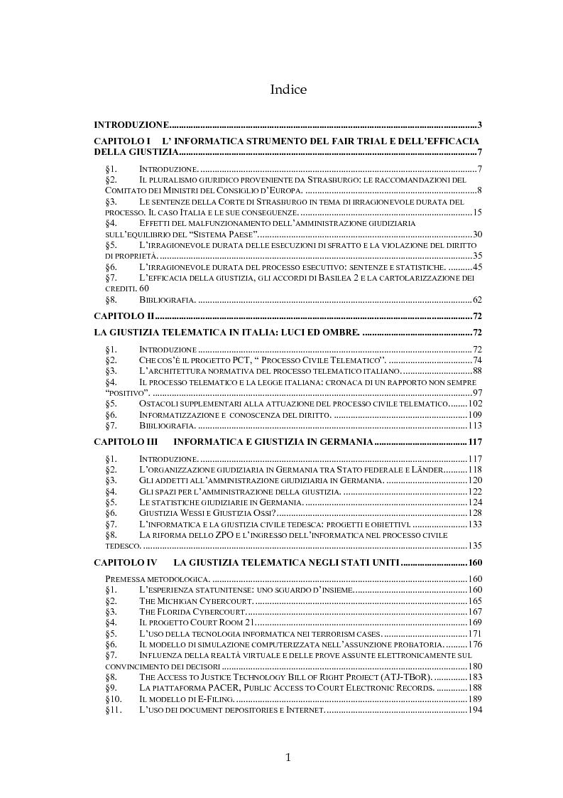 Applicazioni informatiche nel processo civile in diritto - Diritto di abitazione durata ...