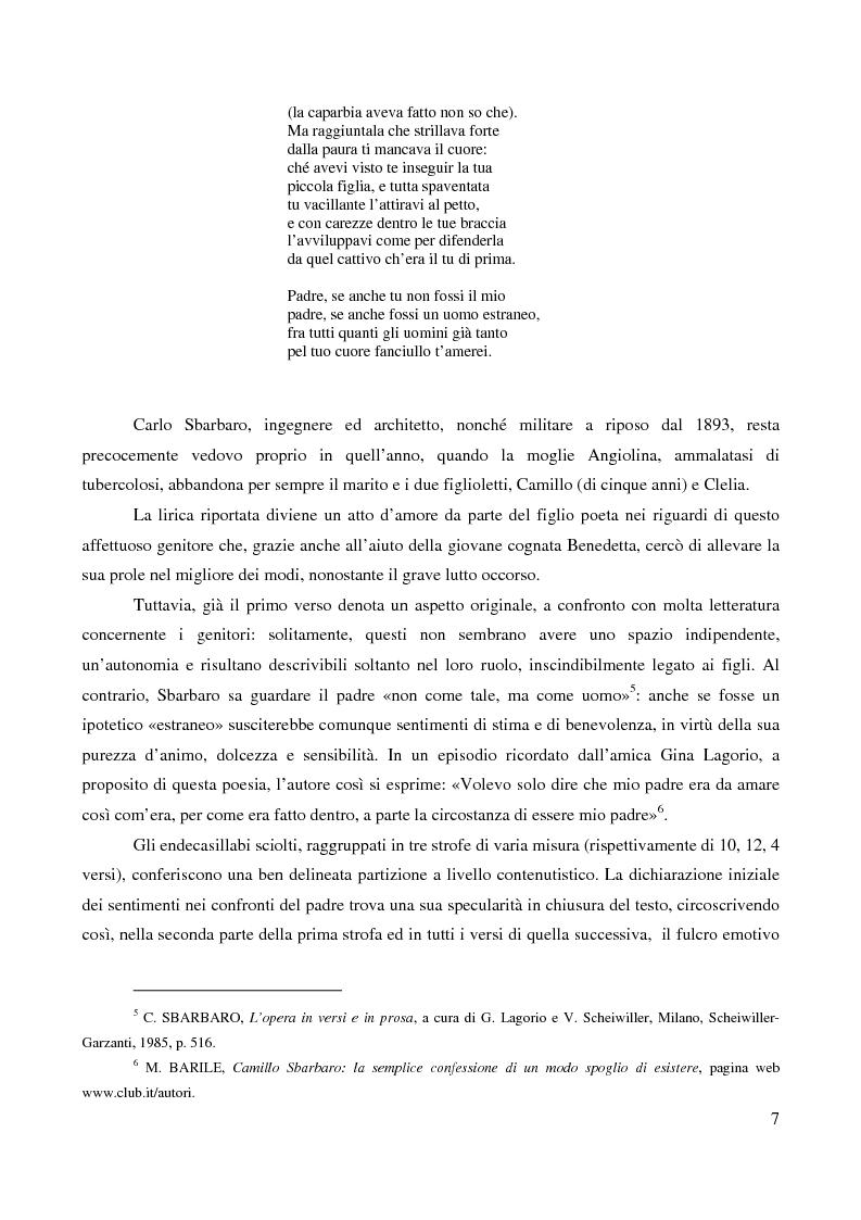 La Figura Del Padre Nella Poesia Italiana Del Xx Secolo Anteprima