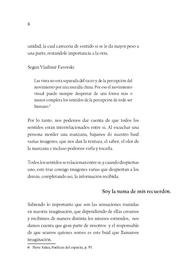 Estratto dalla tesi: Con ojos de Arquitecto. Ensayo fotográfico Centro Cultural Estación Indianilla (Con occhi d'architetto. Saggio fotografico Centro Culturale Estación Indianilla)