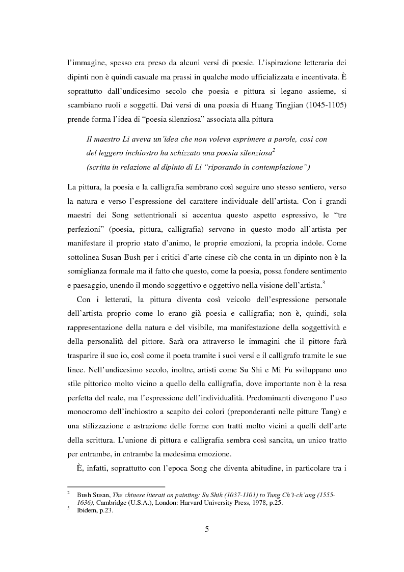 Anteprima della tesi: La sorgente dei fiori di pesco - Alla ricerca di un'utopia tra poesia e pittura, Pagina 3