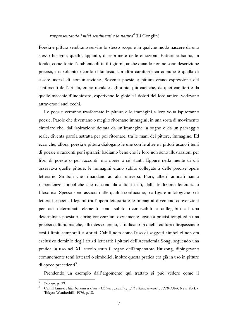 Anteprima della tesi: La sorgente dei fiori di pesco - Alla ricerca di un'utopia tra poesia e pittura, Pagina 5
