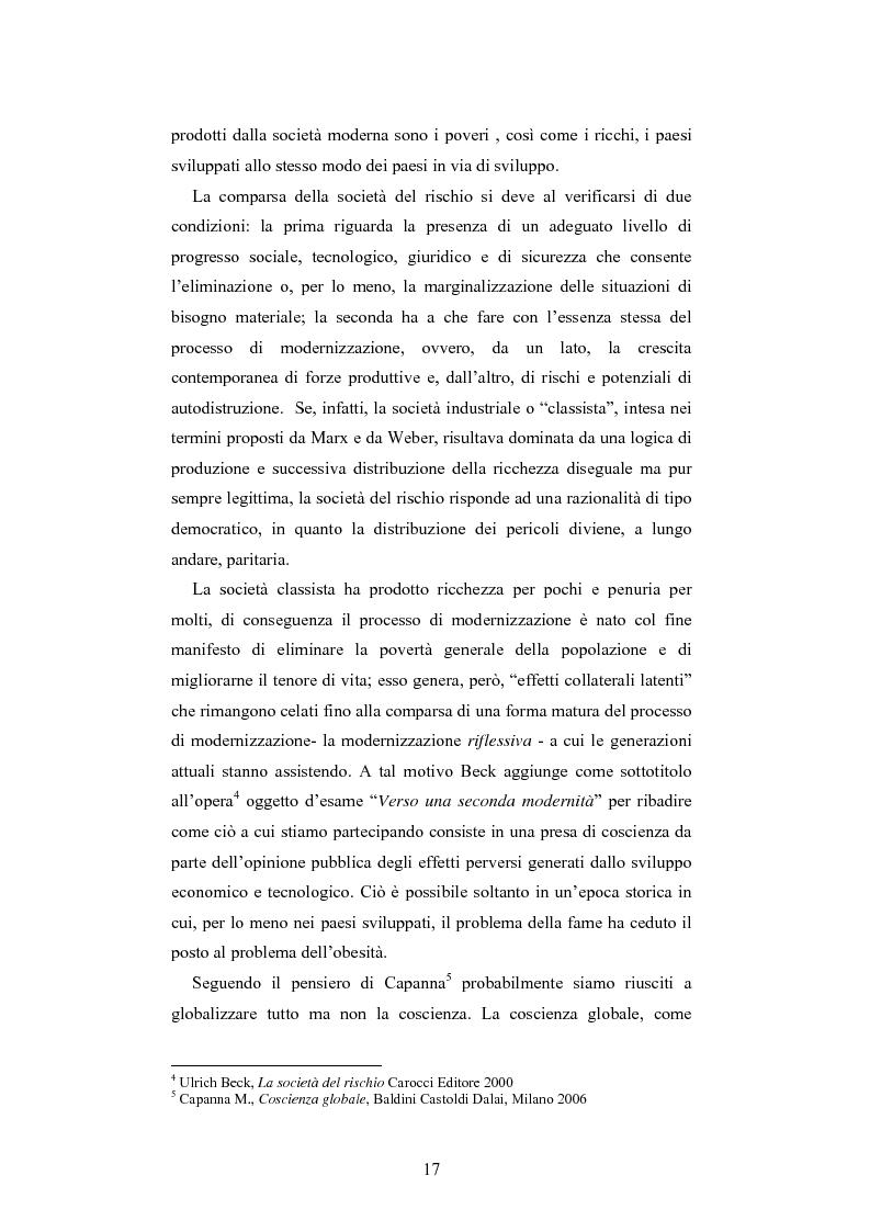 Estratto dalla tesi: Dalla responsabilità sociale di impresa alla responsabilità sociale di territorio: il caso Impronta Etica