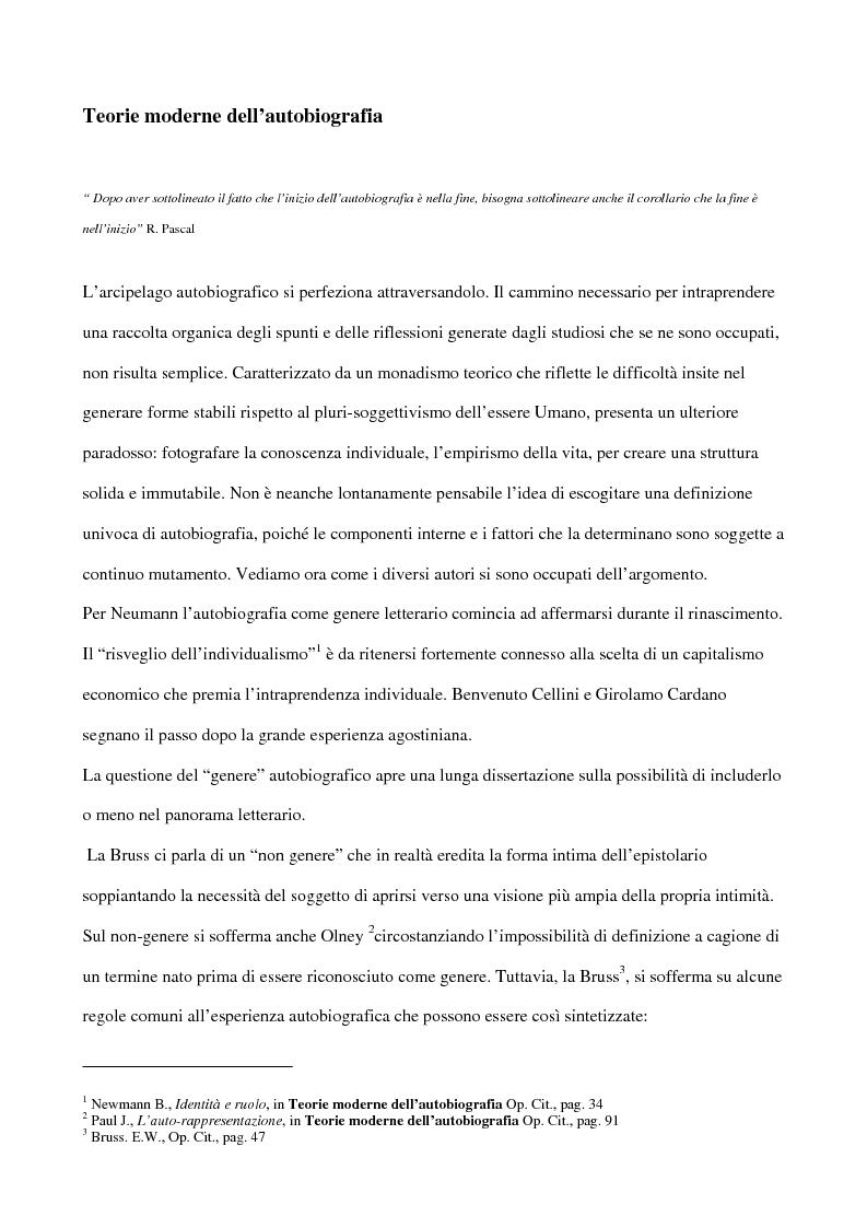 italiano Traduzione di thesis