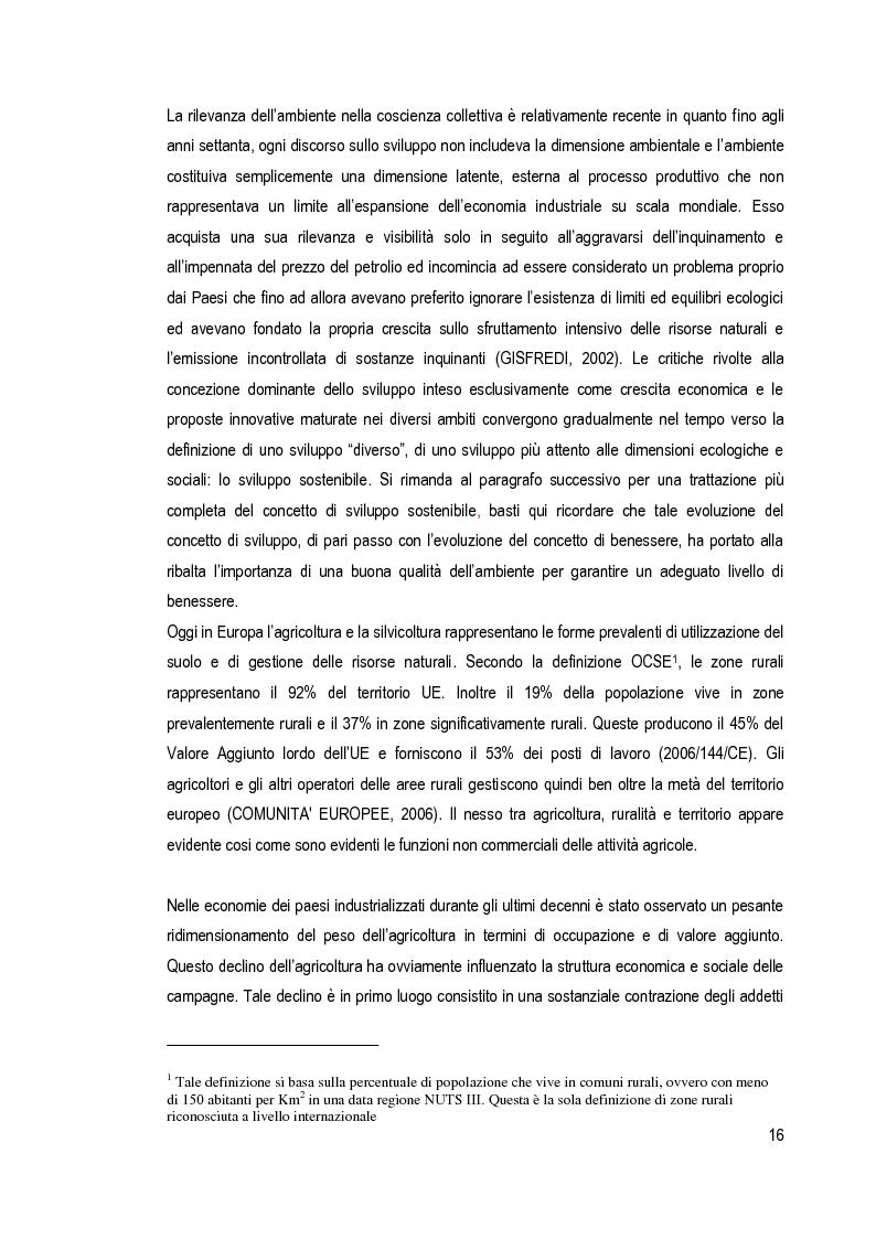 Estratto dalla tesi: Risorse rurali e turismo nei processi di sviluppo locale. Il caso della provincia di Siena