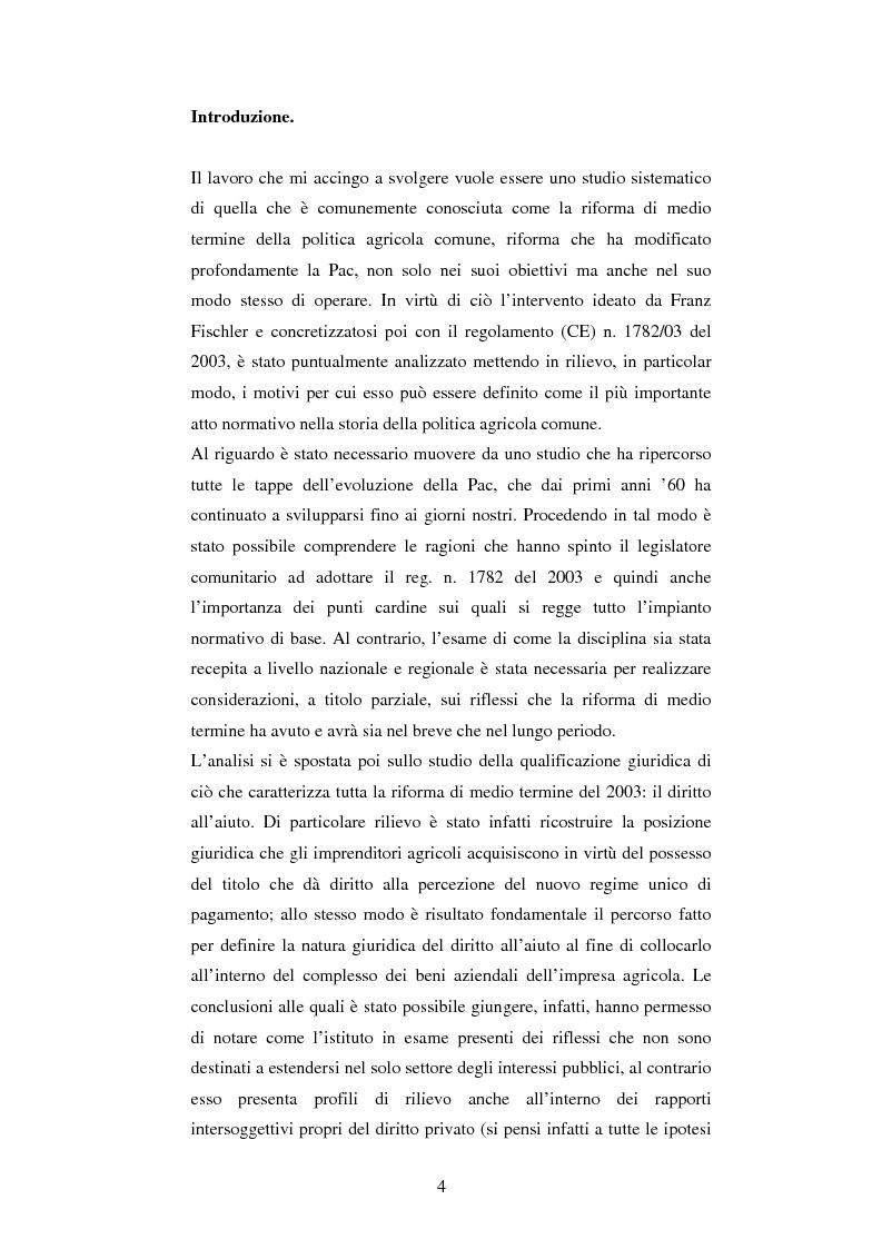 """Natura giuridica e profili applicativi del """"diritto all'aiuto"""" - Tesi di Laurea"""