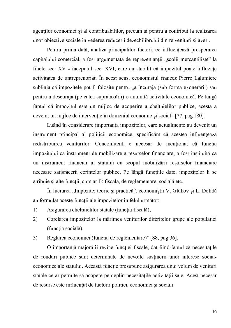 Anteprima della tesi: Impozitele indirecte şi orientările de reformare a acestora in vederea sustinerii activitatii intreprinderilor industriale, Pagina 14