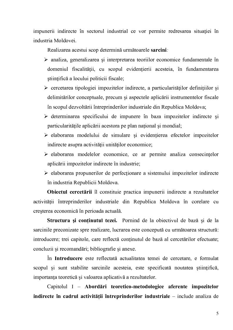 Anteprima della tesi: Impozitele indirecte şi orientările de reformare a acestora in vederea sustinerii activitatii intreprinderilor industriale, Pagina 3