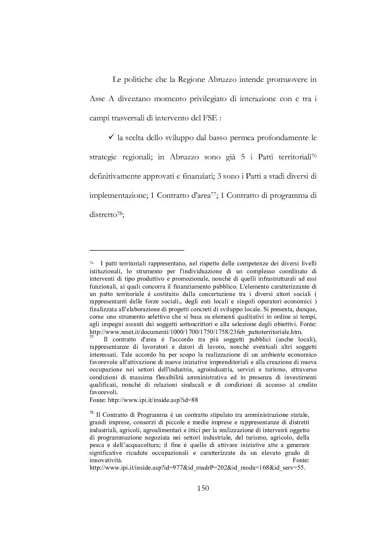 Estratto dalla tesi: I Fondi Strutturali Europei - Politiche Istituzionali