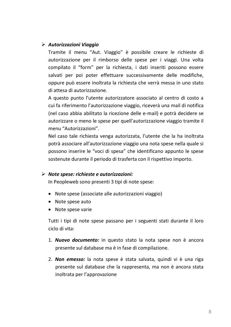 Anteprima della tesi: Refactoring e templating web di un'applicazione web di gestione note spese basata su J2EE, Pagina 5