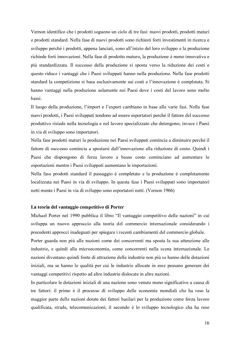 Anteprima della tesi: Il coordinamento della supply chain globalizzata, Pagina 9