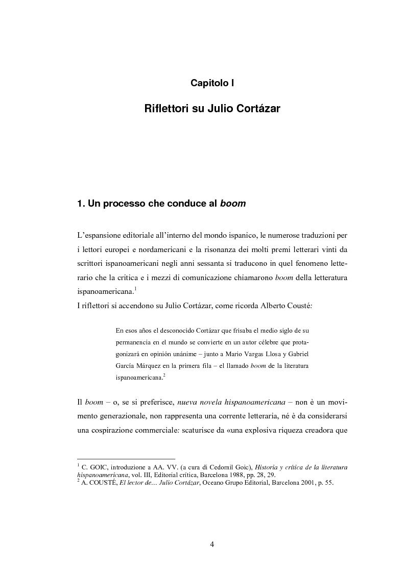 """Anteprima della tesi: «Esto ya lo toqué mañana» - Viaggio attraverso gli interstizi nella linea del tempo in """"El perseguidor"""" di Julio Cortázar, Pagina 3"""