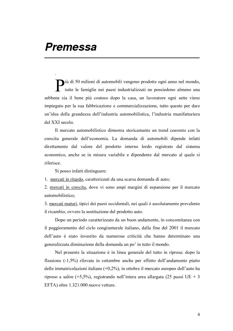 Strategie di turnaround e decisioni finanziarie. Il caso Fiat Group Automobiles - Tesi di Laurea