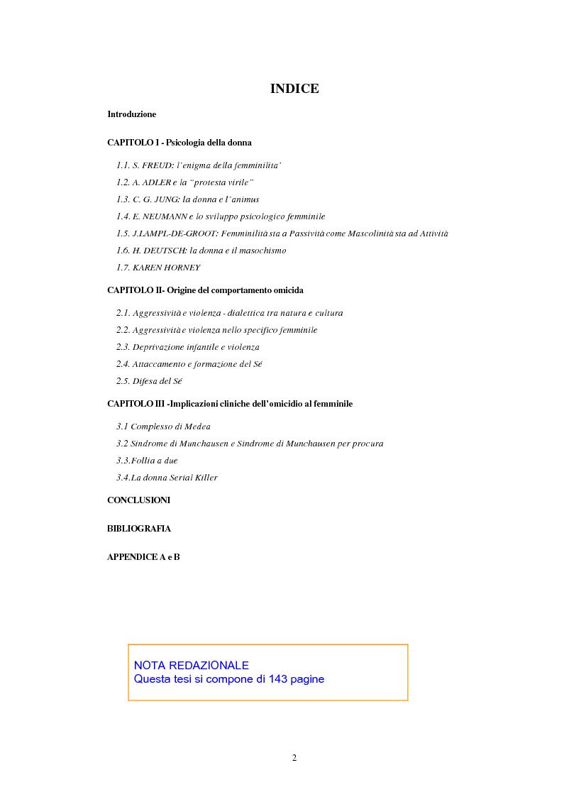 Studio psicologico sul comportamento omicida femminile e for Sindrome di munchausen per procura