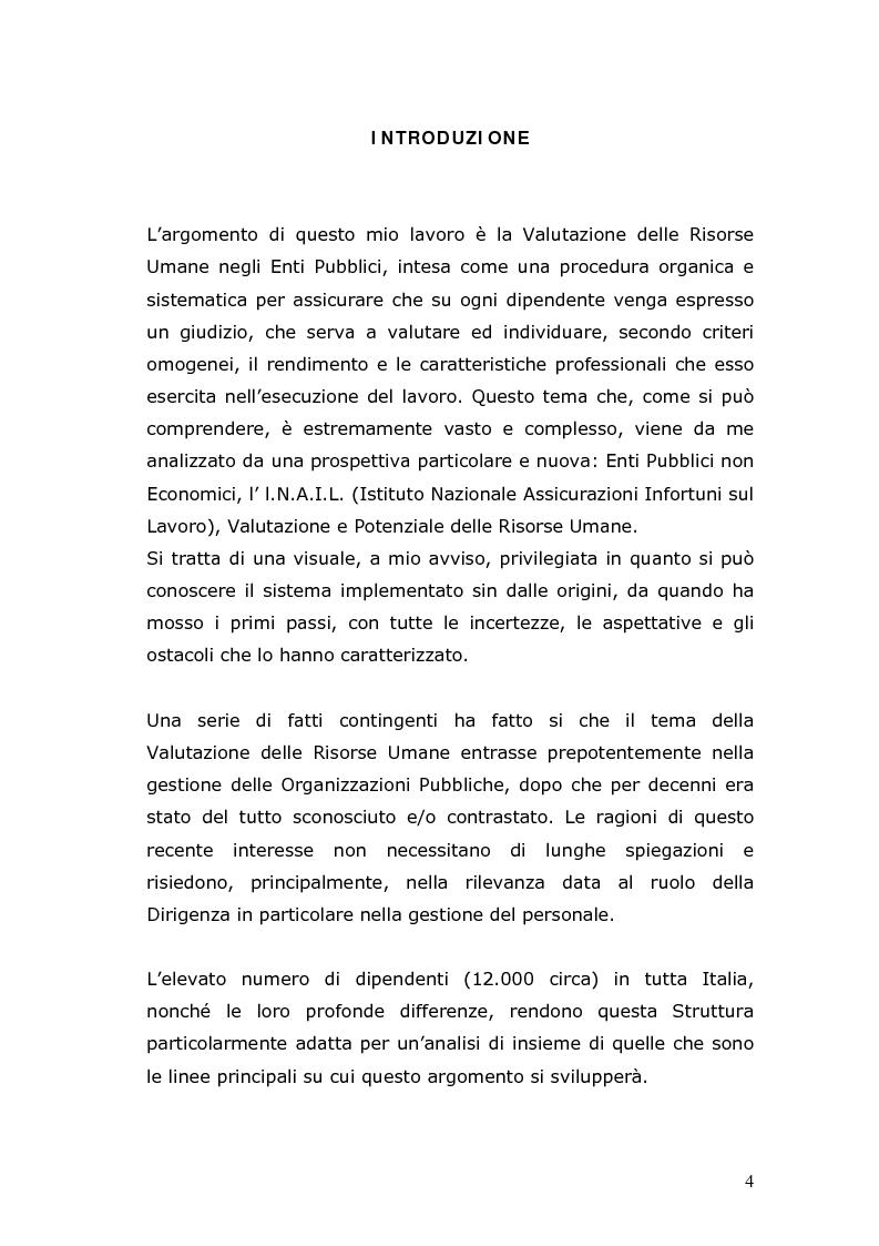 Anteprima della tesi: Il sistema di valutazione I.N.A.I.L., Pagina 1