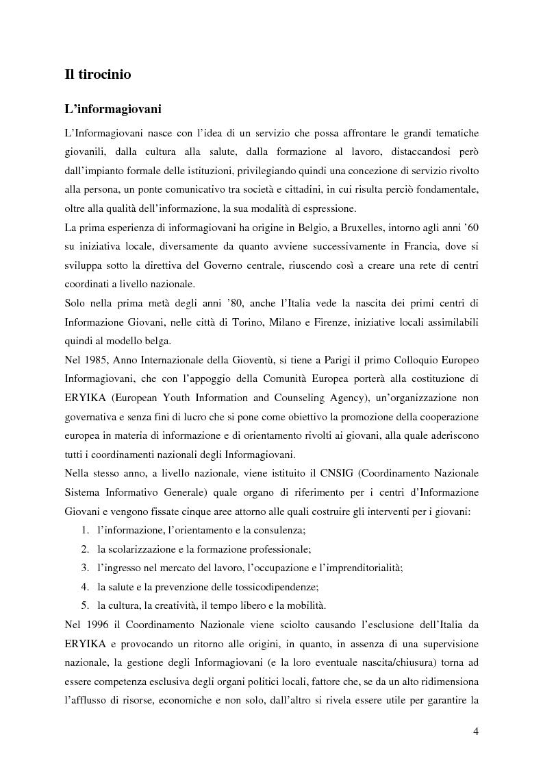 Fondamenti del processo orientativo - Tesi di Laurea