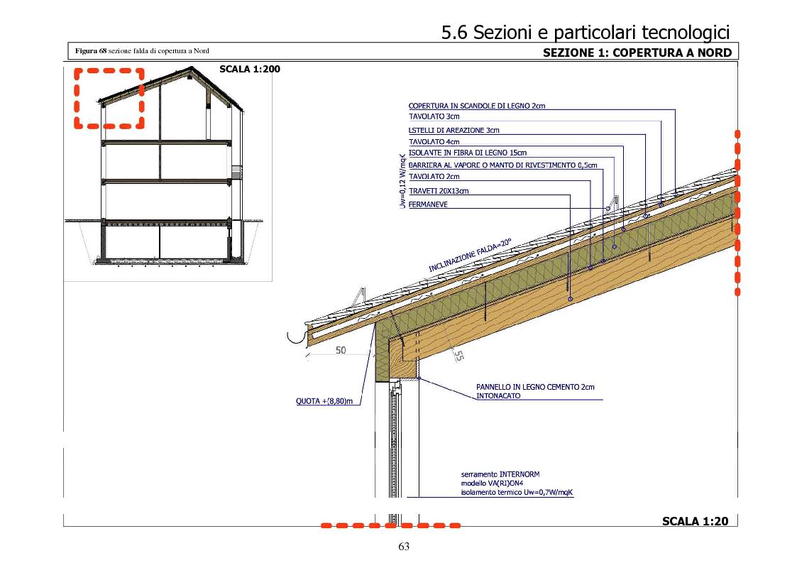Anteprima tesi laurea triennale progettazione di un for Sezione tetto giardino