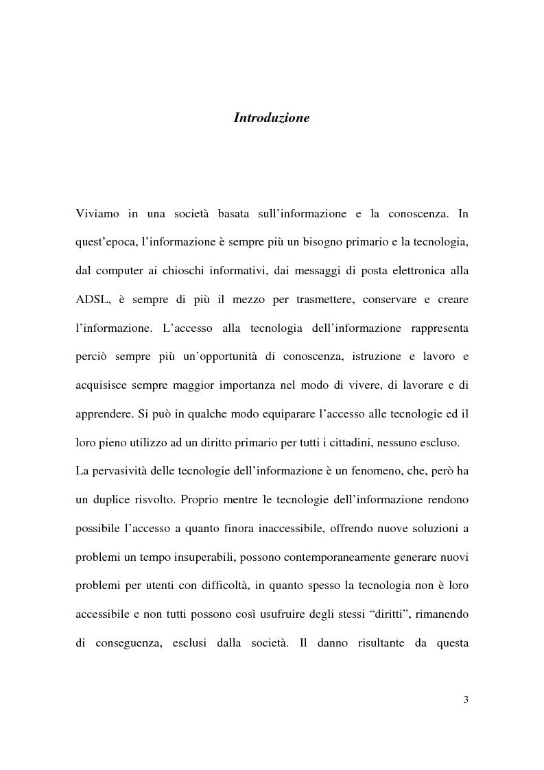 Anteprima della tesi: Il gioco informatico nel processo educativo dei bambini diversamente abili, Pagina 1