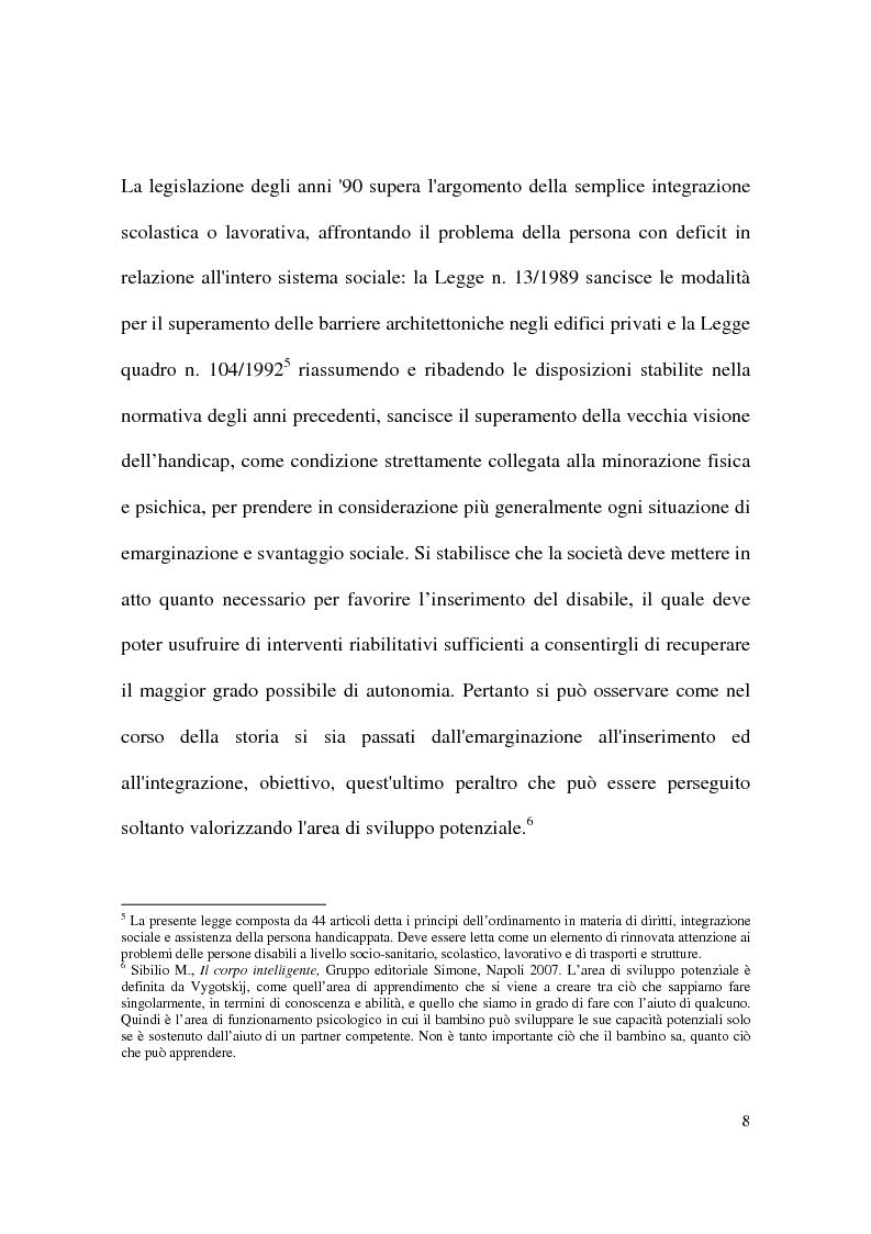 Anteprima della tesi: Il gioco informatico nel processo educativo dei bambini diversamente abili, Pagina 6