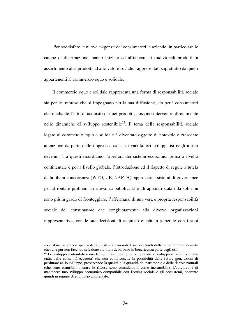 Estratto dalla tesi: Il commercio equo e solidale come espressione di responsabilità sociale d'impresa - Il caso della bottega ''E Pappeci''
