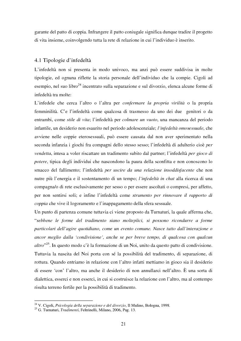 Estratto dalla tesi: Avere più partner sessuali in Italia - Un'analisi qualitativa